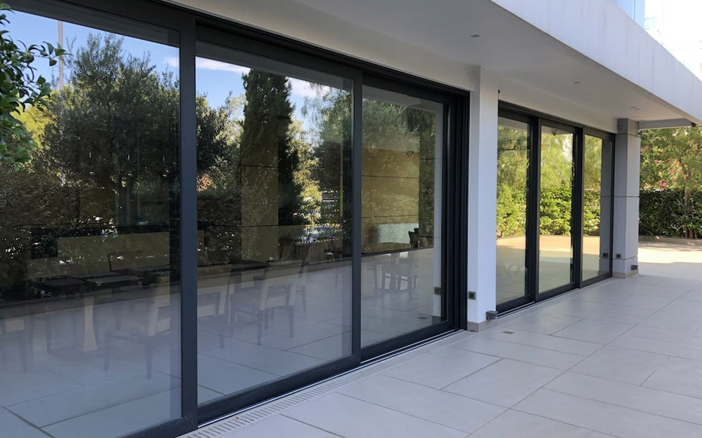 Schuco-sliding-doors-by-Doorview-in-powder-coated-finish